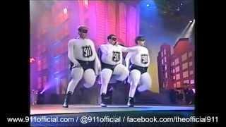 911 - Bodyshakin' - Smash Hits Poll Winners Party (1997)