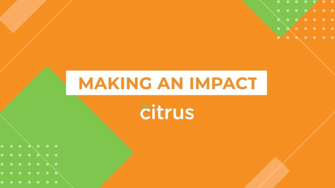 Citrus - Making an Impact