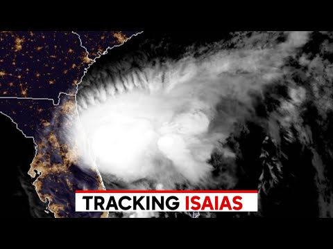 Isaias track Tropical storm watch for New York New Jersey and Connecticut