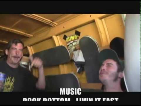 Rock Bottom 'Delusions Of Grandeur' Tour Video Part 1