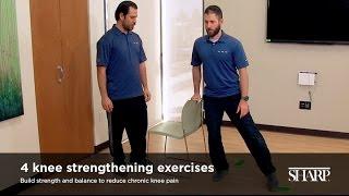 4 Knee Strengthening Exercises