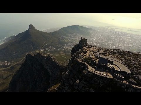 Fly Above Beautiful Capetown