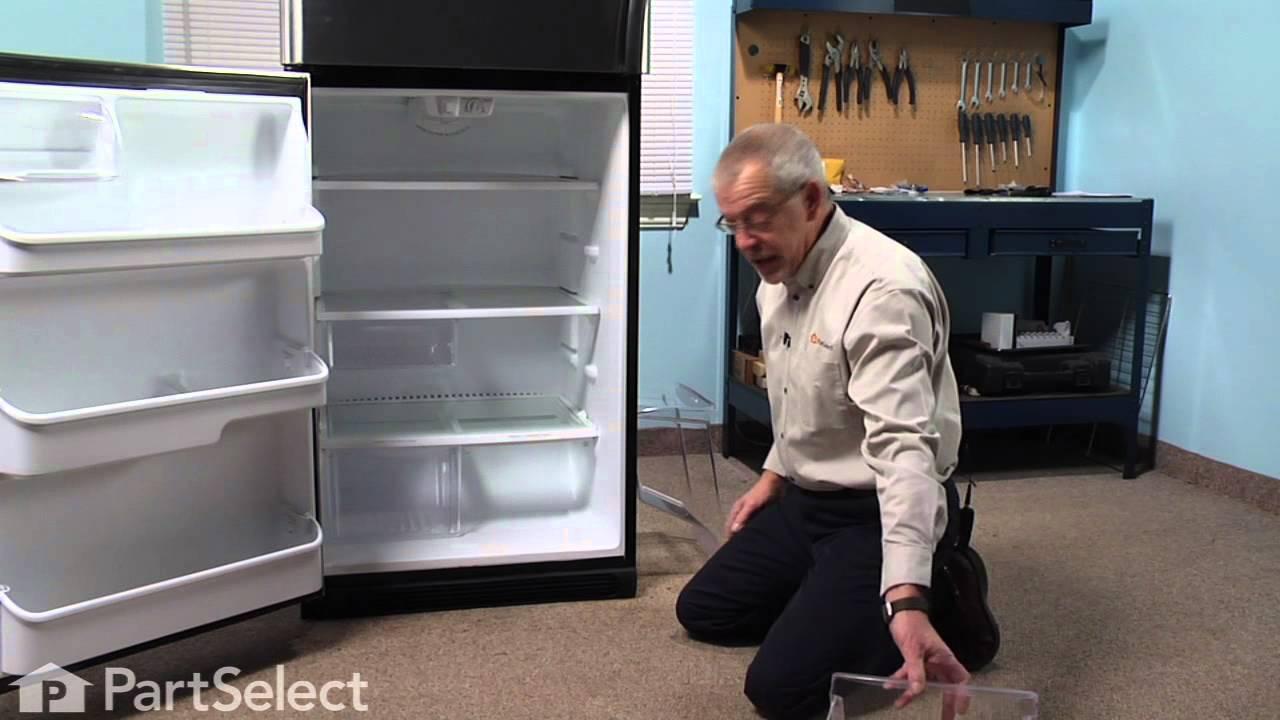 Replacing your Frigidaire Refrigerator Refrigerator Crisper Pan