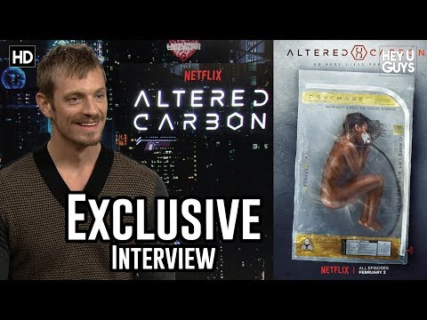 Joel Kinnaman - Altered Carbon Exclusive Interview