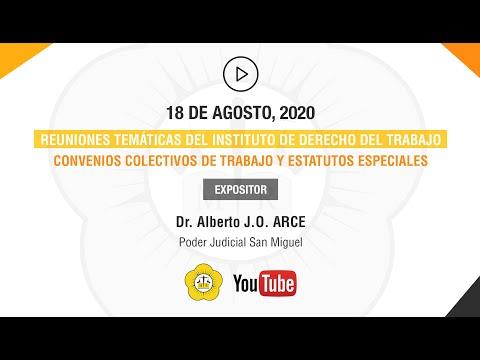 REUNIONES TEMÁTICAS DEL INSTITUTO DE DERECHO DEL TRABAJO - 18 de Agosto 2020