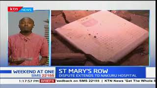 Property destroyed as St Mary's hospital row extends to Nakuru hospital