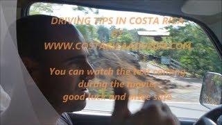Driving tips costa rica - טיפים לנהיגה והשכרת רכב בקוסטה ריקה