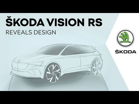 ŠKODA VISION RS reveals design