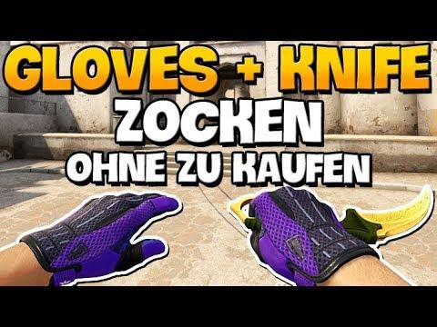 CS:GO - Mit Gloves und Knife zocken, ohne sie zu kaufen - Gloves-Server (!gloves/!knife/!ws)