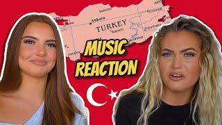 TURKISH MUSIC REACTION | Mero, Murda Ft Ezhel, Ali471, Ece Seckin, Ismail YK