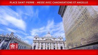 Pape François - Place Saint-Pierre - Messe avec canonisations et Angélus 2018-10-14