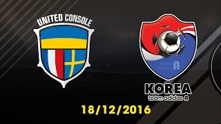 [18.12.2016] [EA CCW 2016] UNITED CONSOLE vs TEAM ADIDAS A [Semi Final 1]