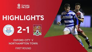 Oxford Comeback in Shocking Upset! | Oxford City 2-1 Northampton Town | Emirates FA Cup 2020-21