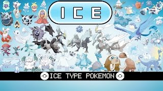 All Ice Type Pokémon