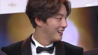 2016 KBS 연예대상 2부 - 1박 2일 - '시청자가 뽑은 최고의 프로그램 상' 수상!. 20161224
