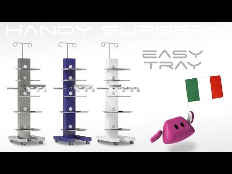 Carrello per Apparecchiature Chirurgiche Autoclavabile Easy Tray