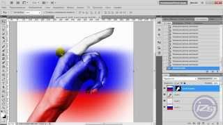 Наложение изображений с учётом рельефа в Photoshop