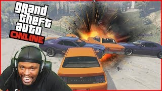 The Most Unlikely Hero! GTA 5 Sumo Mode Rivalry!