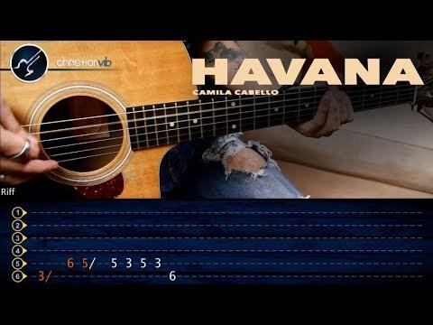 HAVANA Camila Cabello | Guitar Tutorial | Christianvib Guitarra