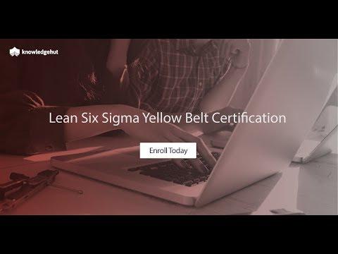Lean Six Sigma Yellow Belt - YouTube