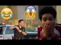 LAMBORGHINI GOLD DIGGER PRANK PART 2! | Hooman TV (REACTION)