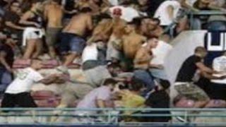 Napoli - Coltellate prima di Napoli-Sampdoria, trovato aggressore (08.09.15)