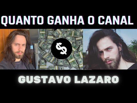 QUANTO GANHA GUSTAVO LAZARO ATUALIZADO EM 20201