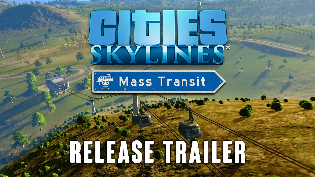 Cities: Skylines' Mass Transit Expansion Adds Blimps, Ferries And Transport Hubs