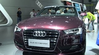 preview picture of video '奧迪 Audi A5 Cabriolet・・・14th China (Kunming) Pan-Asia International Automobile Exhibition'