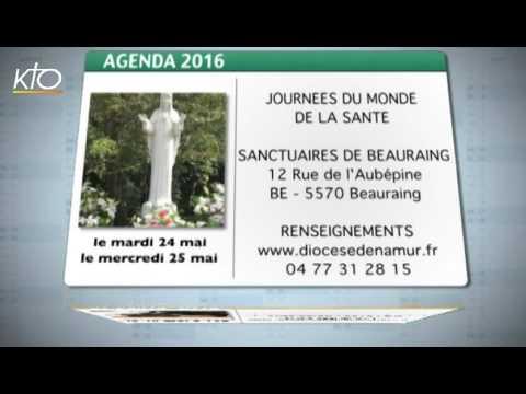 Agenda du 16 mai 2016