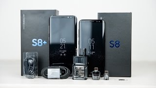 Samsung Galaxy S8 Unboxing and first look english/ENG 4k - dooclip.me