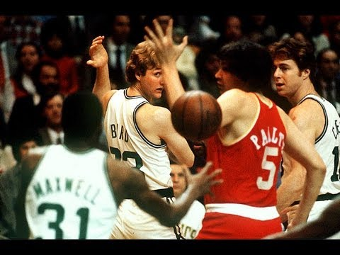 Larry Bird is the best passer in the history of the NBA