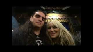 With Doro in memory of Ronnie James Dio