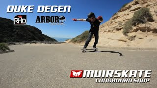 Duke at Home | Raw Runs | MuirSkate Longboard Shop