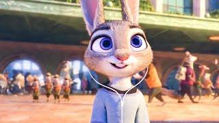 Judy Arrives In Zootopia Scene - ZOOTOPIA (2016) Movie Clip