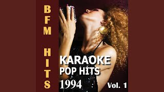I Can't Get Next to You (Originally Performed by Annie Lennox) (Karaoke Version)