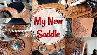 My NEW SADDLE!! Double T Barrel Saddle Review