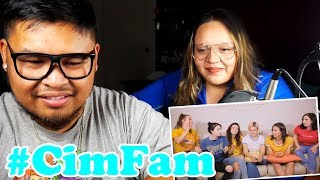 Cimorelli Harmonizing Challenge | COUPLE'S REACTION!