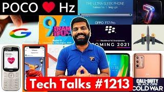 Tech Talks #1213 - Crazy POCO Phone, Realme X7 Pro 125W, Redmi 9 India, Google Hacked?, Oppo F17 Pro