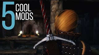 5 Cool Mods - Episode 7 - Skyrim: Special Edition Mods (PC/Xbox One/PS4)