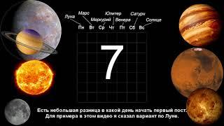 Очищение кармы и тела по методу 7 планет