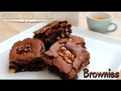 Ricetta Brownies Americani al Cioccolato   Mehl Channel