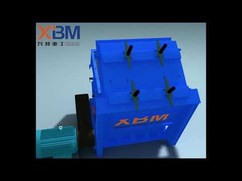 trituradora de impacto/planta de trituración/trituradora de caliza