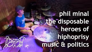 The Disposable Heroes Of Hiphoprisy | Music & Politics | Drum Cover