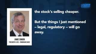 """EXCLUSIVE - JPMorgan CEO: Bank's Regulatory Burden """"Will Go Away"""""""