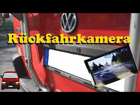Rückfahrkamera nachrüsten im VW T4 mit Funkübertragung