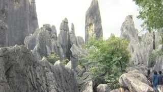 preview picture of video 'Kunming, Yunnan, Shilin Steinwald - China Travel Channel'