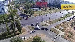 ДТП (авария г. Волжский) ул. Карбышева ул. 40 лет Победы 14-09-2018 08-42