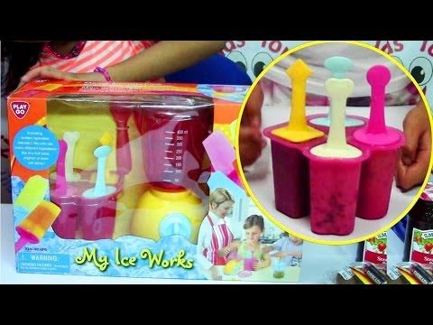 Video PlayGo My Ice Works - Make Cookies and Cream, Fruit, Yogurt Ice Pops