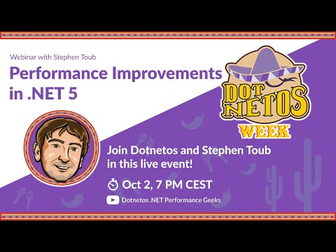 Image thumbnail for talk Performance Improvements in .NET 5